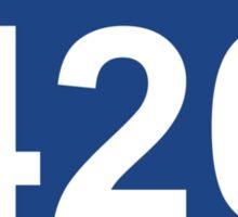 Interstate 420 Sticker