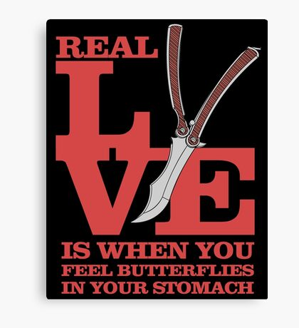 The Real Love Canvas Print