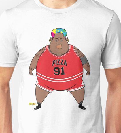Deep Dennis Dish Pizza Unisex T-Shirt
