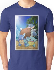 Squirtle Evolution Unisex T-Shirt