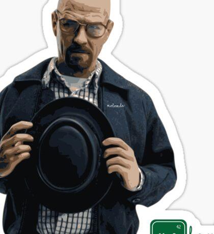 Heisenberg Molomberg Sticker