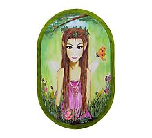 AUTUMN FAIRY Photographic Print