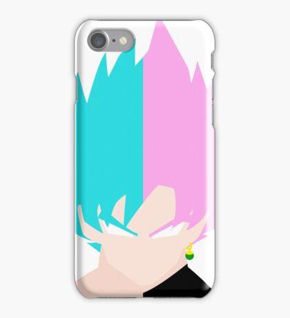 Goku SSB and Goku Black SSR iPhone Case/Skin
