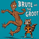 The Brute and The Groot by HartmanArts