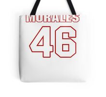 NFL Player Anthony Morales fortysix 46 Tote Bag