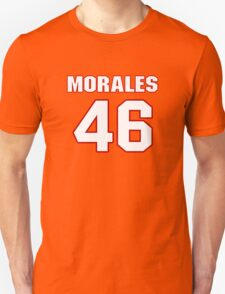 NFL Player Anthony Morales fortysix 46 T-Shirt