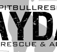 Mayday Pit Bull Rescue & Advocacy Sticker