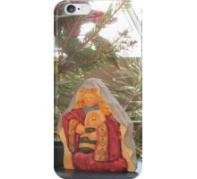 Window Nativity iPhone Case/Skin