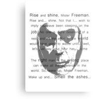 Gman   Rise and shine... Metal Print
