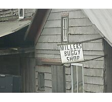 Millers Buggy Shop Photographic Print