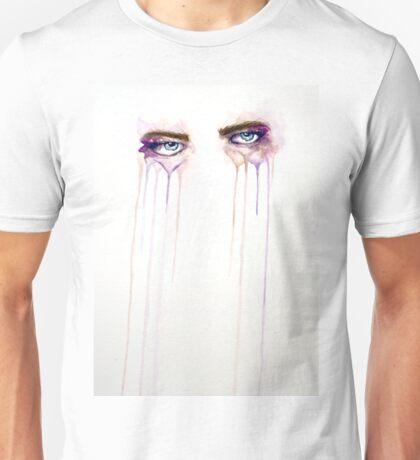 Water Color Eyes I (Purple Haze)   Unisex T-Shirt