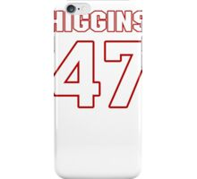 NFL Player Mike Higgins fortyseven 47 iPhone Case/Skin