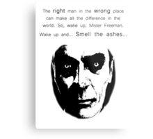 Gman   The right man... Metal Print