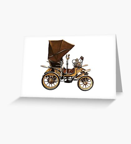 OLD TIMEY CAR Greeting Card