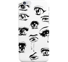 Sad Anime Girls :*( iPhone Case/Skin
