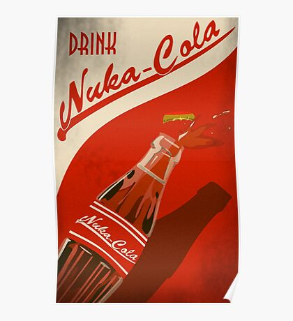 Fallout Drink Nuka Cola Poster