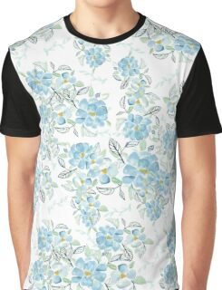 In the blue garden Graphic T-Shirt