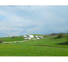 Amish Homestead Photographic Print