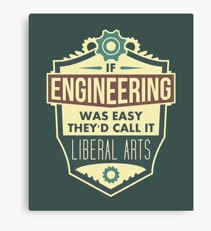 Engineering Canvas Print