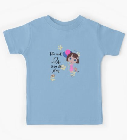 The Real Joy In Life Kids Tee