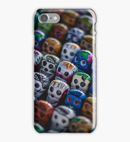 Candy Skulls - Venice Beach iPhone Case/Skin
