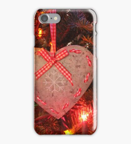 Country Christmas iPhone Case/Skin