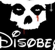 Disobey Sitcker Sticker