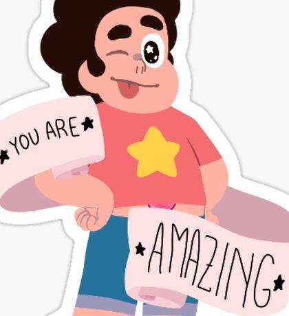 Steven Universe Positivity - Steven Sticker