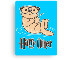 Harry Otter Wizard  Canvas Print