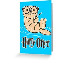 Harry Otter Wizard  Greeting Card