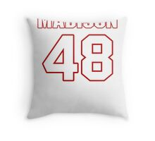NFL Player Ross Madison fortyeight 48 Throw Pillow