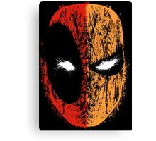 Deadpool/Deathstroke Canvas Print