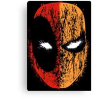 Deadpool/Deathstroke Canvas Print