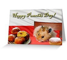 Punchki Day Hamster Greeting Card