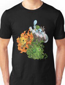 Pokemon bulbizarre_carapuce_salameche Unisex T-Shirt