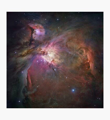 Galaxy nebula print Photographic Print