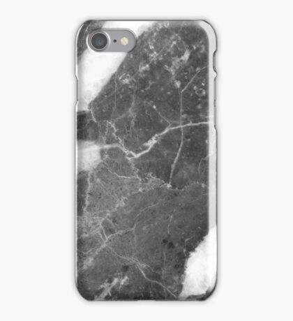 Delizioso - grey marble glam iPhone Case/Skin