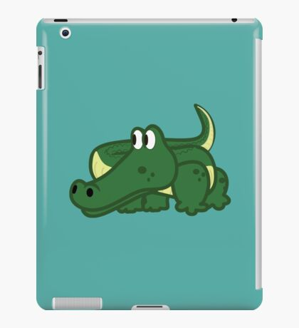 Alligator iPad Case/Skin