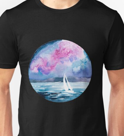 Starlight sailing Unisex T-Shirt