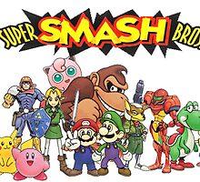 Super Smash Bros. N64 by Camilo Montalvo