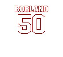 NFL Player Chris Borland fifty 50 Photographic Print