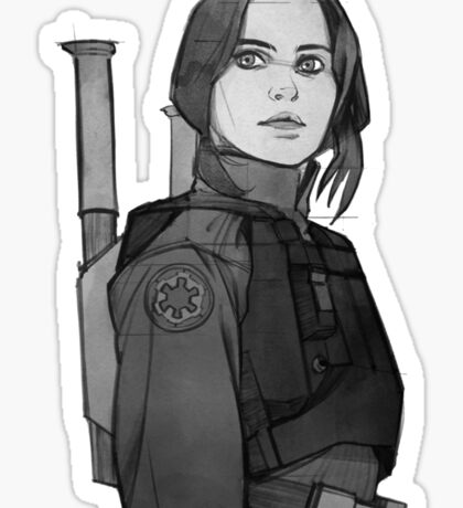star wars rogue one Sticker