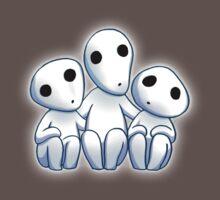 Tree Spirit Friends- Mononoke Kids Clothes