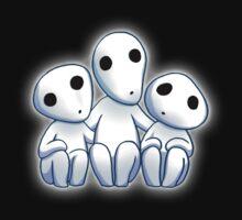 Tree Spirit Friends- Mononoke Kids Tee