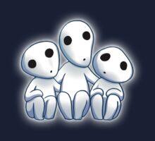 Tree Spirit Friends- Mononoke One Piece - Short Sleeve