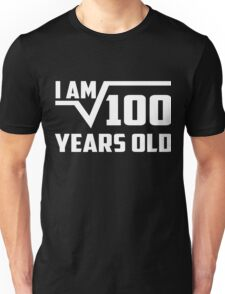 Square Root of 100 Shirt Best Gifts For 10 Year Old Boy,Girl Unisex T-Shirt