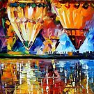 Balloon Reflections — Buy Now Link - www.etsy.com/listing/185829704 by Leonid  Afremov