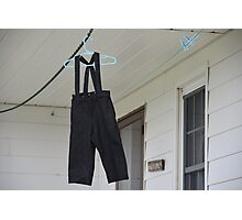 Little Amish Britches Photographic Print