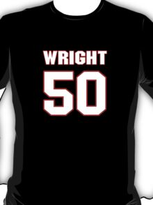 NFL Player K.J. Wright fifty 50 T-Shirt