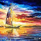 Sailing In Cancun — Buy Now Link - www.etsy.com/listing/209661498 by Leonid  Afremov